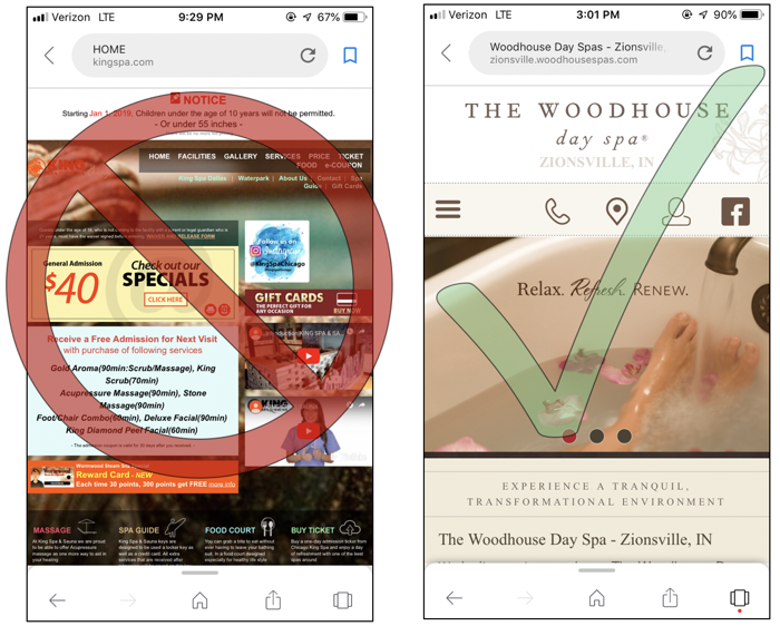 Mobile Optimization Responsive