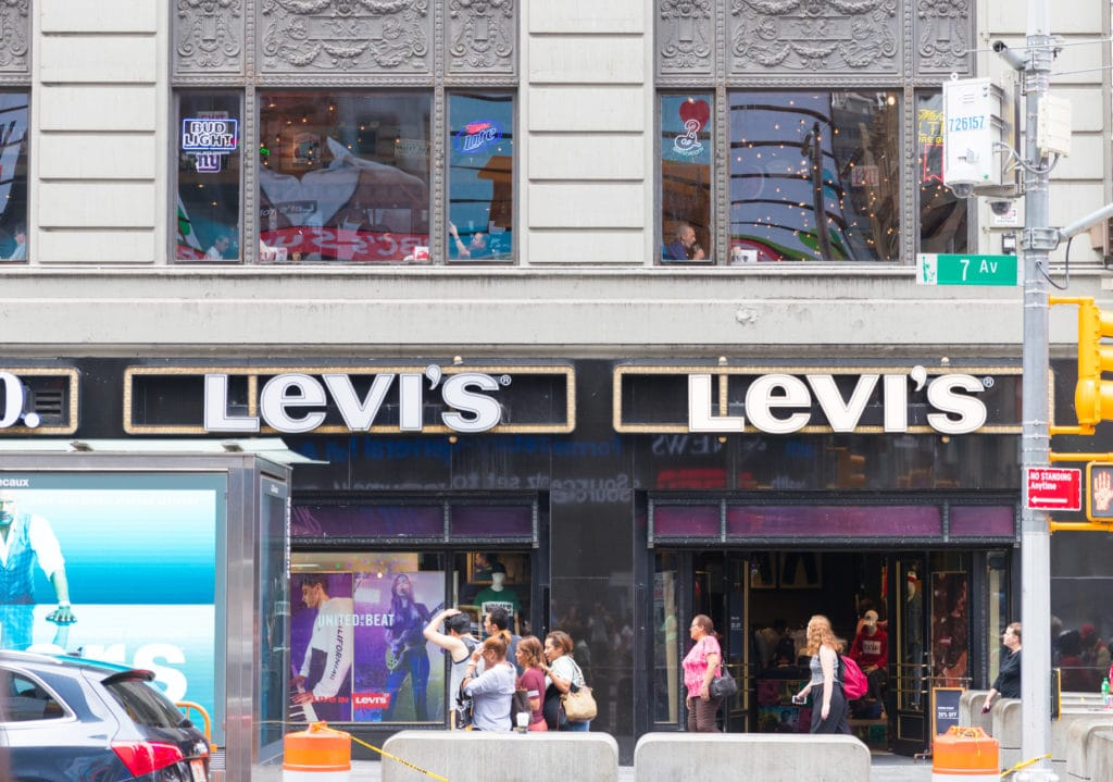 Levis Store In The New York City