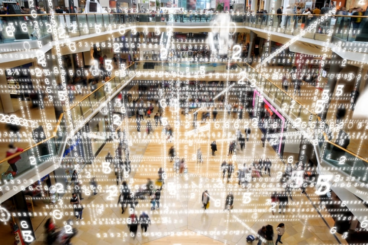 Retail and e-commerce with customer data