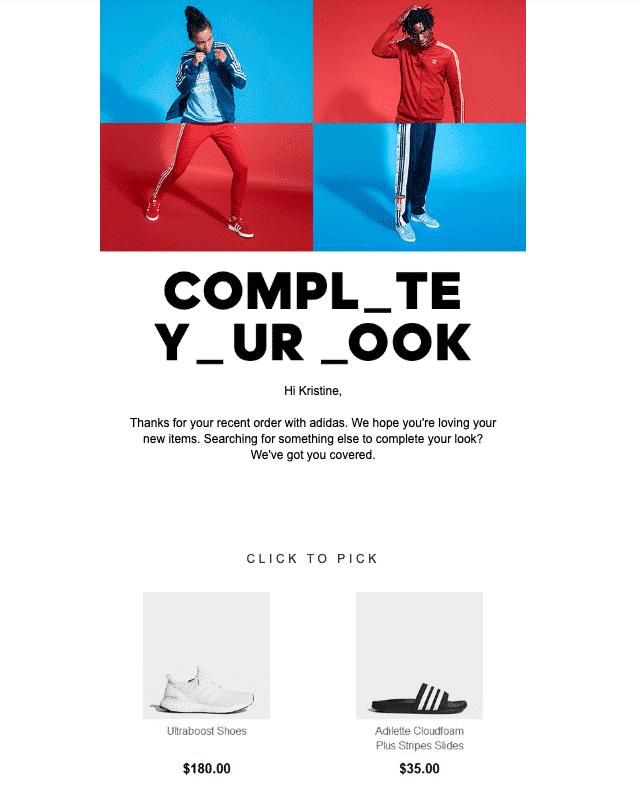Upsellingcross Selling Adidas