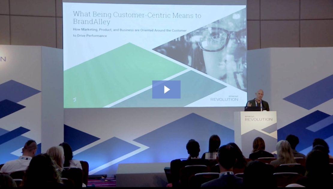 Customer-Centricity for Retail Survival: BrandAlley's Story [Video]