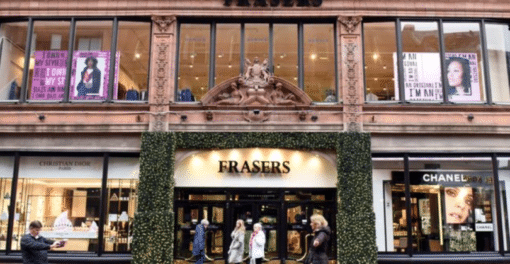 How Frasers Group Has Been Agile and Rapidly Adapted to Shifts in Consumer Behavior