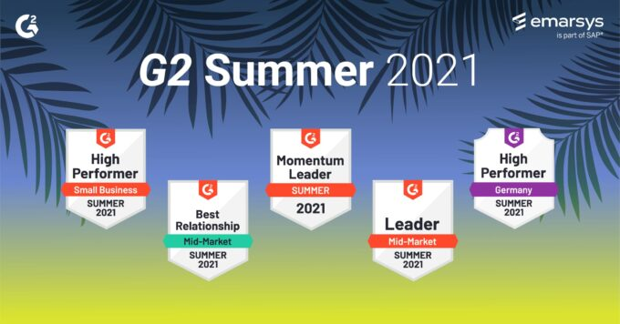 G2 Summer 2021 Report: Emarsys Leads the Way in Personalization