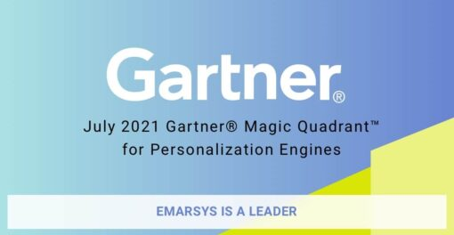 A leader in the Gartner 2021 Magic Quadrant for Personalization Engines